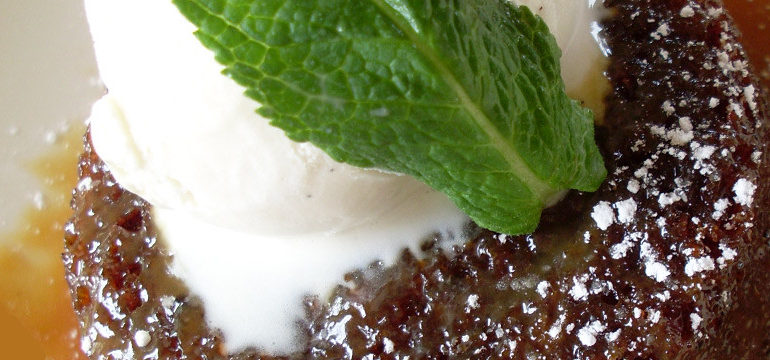 Chef's Recipe: Sticky Toffee Pudding