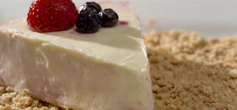 Easter Recipe: Baileys & White Chocolate Cheesecake