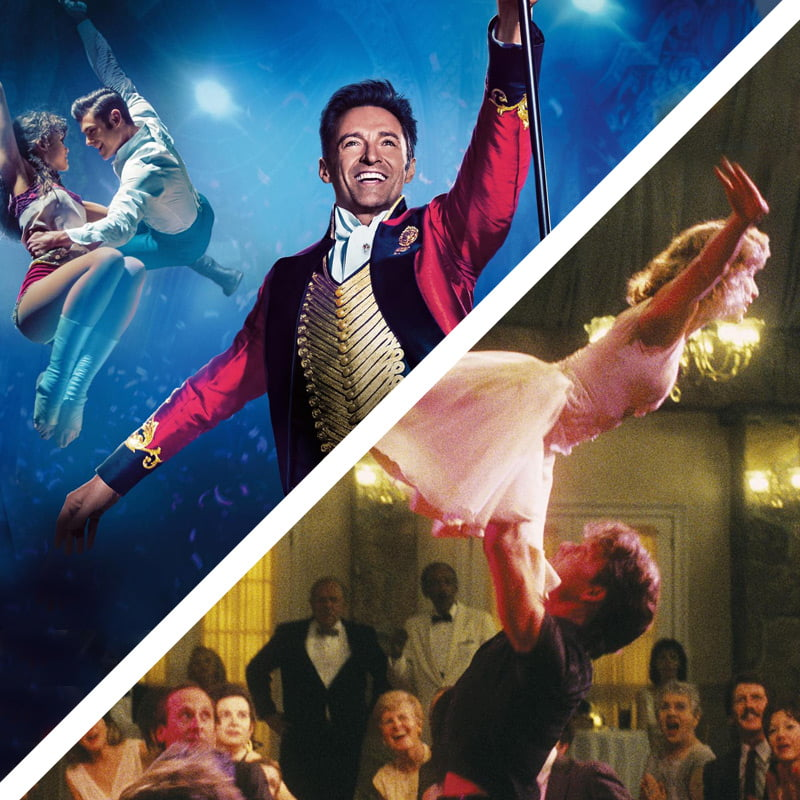 greatest showman and dirty dancing