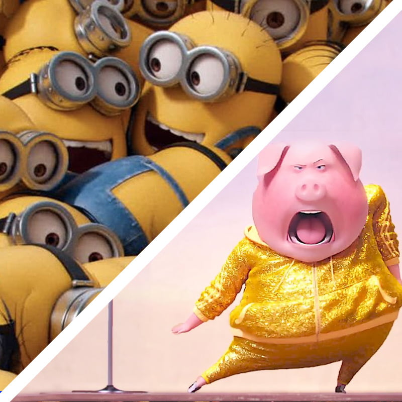 minions and sing