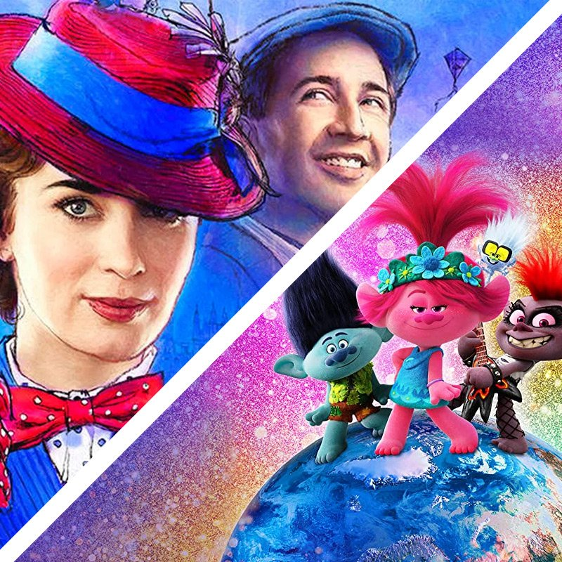 trolls and mary poppins